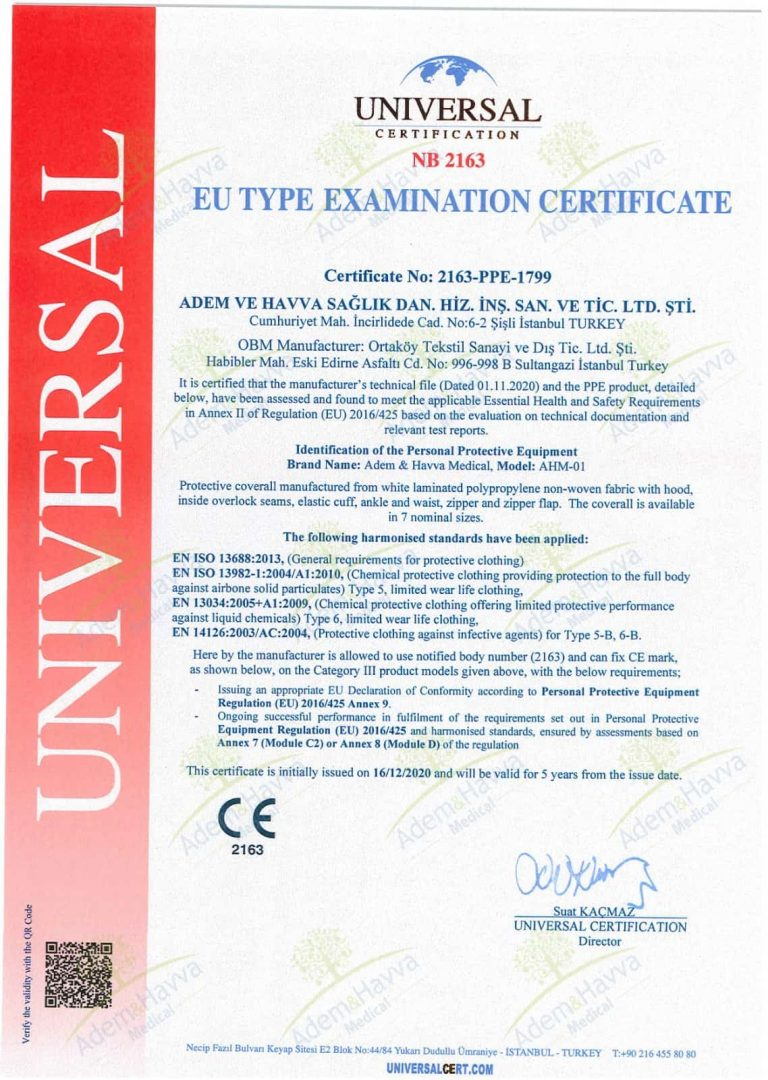 TECHNICAL REPORT ANR CERTIFICATE
